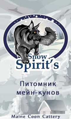 Питомник Мейн-Кунов Snow-Spirit's